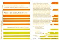 DVD-Cover Aber hier Leben, Nein Danke!