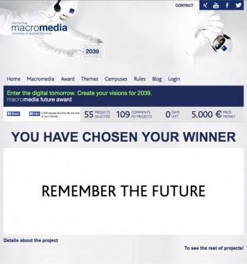 Future Award 2039