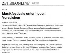 Musikfestivals unter neuen Vorzeichen